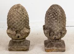 Pair of Stone Finials - 1953890