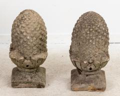 Pair of Stone Finials - 1953891