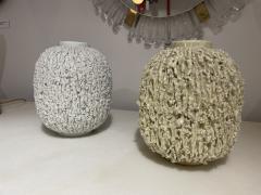Pair of Stoneware Vases Designed by Gunnar Nylund Sweden 1960s - 2068423