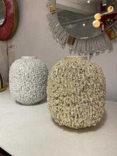Pair of Stoneware Vases Designed by Gunnar Nylund Sweden 1960s - 2068425