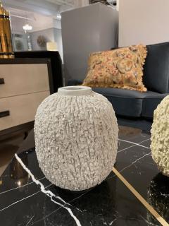 Pair of Stoneware Vases Designed by Gunnar Nylund Sweden 1960s - 2068426