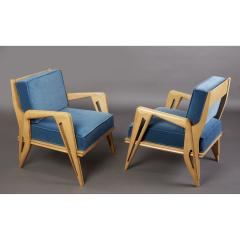 Pair of Stunning Armchairs att to Campo Graffi Italy 1950s - 1960990