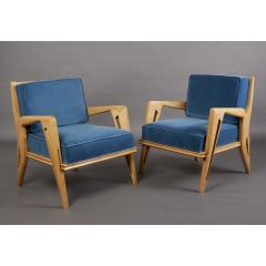 Pair of Stunning Armchairs att to Campo Graffi Italy 1950s - 1963551
