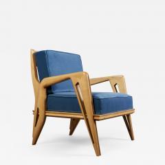 Pair of Stunning Armchairs att to Campo Graffi Italy 1950s - 1973351