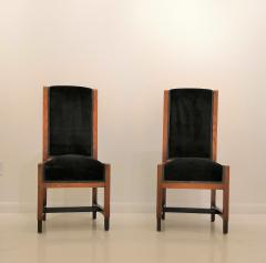 Pair of Swedish Art Deco Chairs Sweden 1930s - 969760