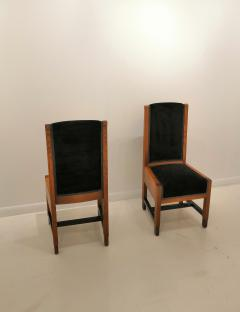 Pair of Swedish Art Deco Chairs Sweden 1930s - 969763