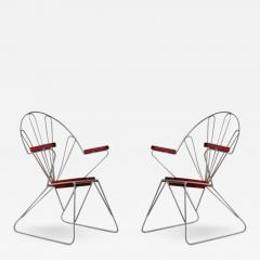 Pair of Swedish Garden Chairs - 375474
