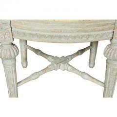 Pair of Swedish Neoclassic Painted Footstools - 1532662