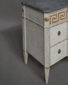 Pair of Swedish Neoclassical Commodes with Greek Key Detail - 606778