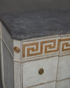 Pair of Swedish Neoclassical Commodes with Greek Key Detail - 606779