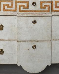 Pair of Swedish Neoclassical Commodes with Greek Key Detail - 606782