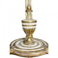 Pair of Swedish Neoclassical Giltwood and Painted Torchere - 1532364