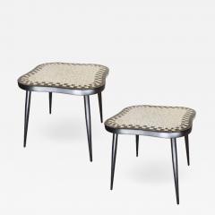 Pair of Swedish Tile Tables - 1758493