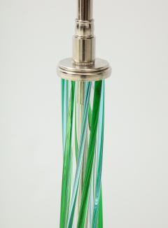 Pair of Swirled Murano Glass lamps  - 1924135