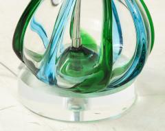 Pair of Swirled Murano Glass lamps  - 1924137