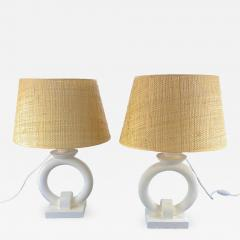 Pair of Table Lamps circa 2000 France - 1973683
