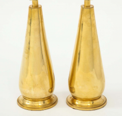 Pair of Tall Brass Lamps - 1933914