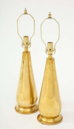 Pair of Tall Brass Lamps - 1933915