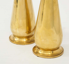Pair of Tall Brass Lamps - 1933916
