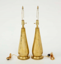 Pair of Tall Brass Lamps - 1933918