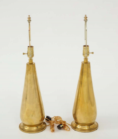 Pair of Tall Brass Lamps - 1933919