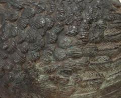 Pair of Tall Bronze Sculptural Cranes - 1702610