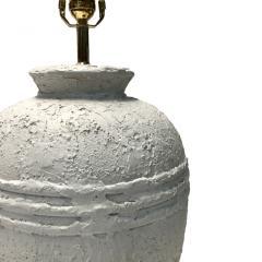 Pair of Textured Ceramic Lamps - 1163344