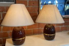 Pair of Two Vintage Italian Table Lamp 1960s  - 1594471