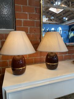 Pair of Two Vintage Italian Table Lamp 1960s  - 1594473