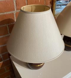 Pair of Two Vintage Italian Table Lamp 1960s  - 1594479
