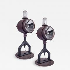 Pair of Unusual Runway Lights - 1797623