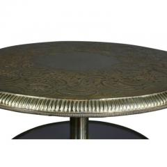 Pair of Victorian Silver Plated and Glass End Tables - 1532288