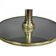 Pair of Victorian Silver Plated and Glass End Tables - 1532313