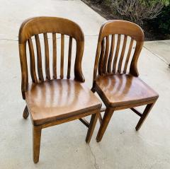 Pair of Vintage Bankers Chairs by Sikes of Buffalo N Y  - 1831230