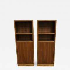 Pair of Walnut Side tables Nightstands - 1189109