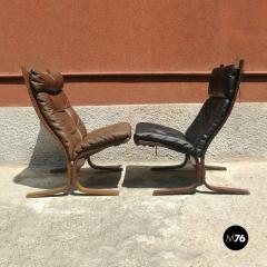 Pair of Westnova armchairs produced by Vestlandske 1970s - 1945575