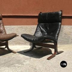 Pair of Westnova armchairs produced by Vestlandske 1970s - 1945577