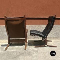 Pair of Westnova armchairs produced by Vestlandske 1970s - 1945579