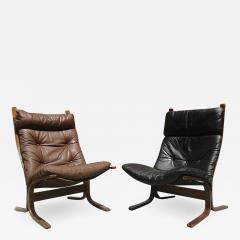 Pair of Westnova armchairs produced by Vestlandske 1970s - 1947294