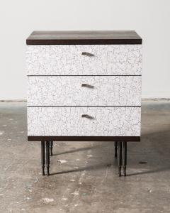 Pair of Wheeler Nightstands Designed Made by Andy Messenger - 1326232