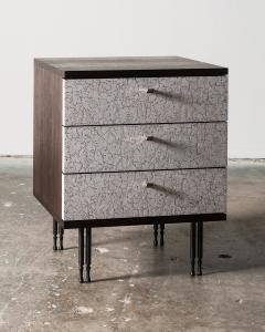 Pair of Wheeler Nightstands Designed Made by Andy Messenger - 1326233