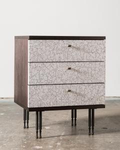 Pair of Wheeler Nightstands Designed Made by Andy Messenger - 1326234