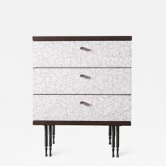 Pair of Wheeler Nightstands Designed Made by Andy Messenger - 1326826