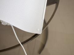 Pair of White Lacquered Perforated Metal Wall Lamps by Lindau Lindekrantz - 1506292