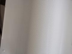 Pair of White Lacquered Perforated Metal Wall Lamps by Lindau Lindekrantz - 1506297