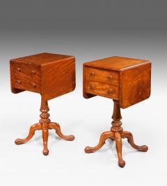 Pair of William lV Satinwood bedside or deception tables - 812924