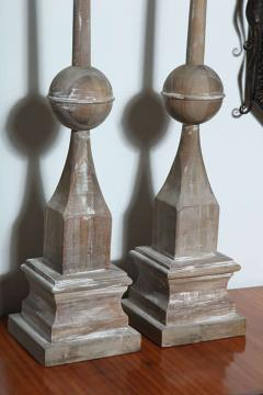 Pair of Wood Architectural Elements - 364751