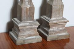 Pair of Wood Architectural Elements - 364752