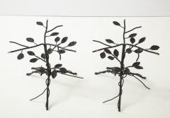 Pair of Wrought Iron End Tables - 1155185
