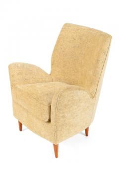 Pair of Yellow Italian Midcentury Style Lounge Chairs - 1096090